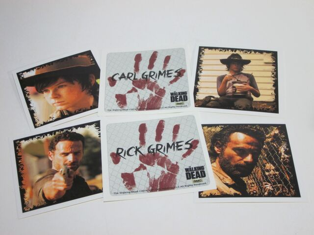 File:Rick and Carl Grimes Character Cards 2.jpg
