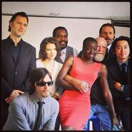 TWD Cast SDCC 1