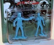 Rick pvc figure (blue)