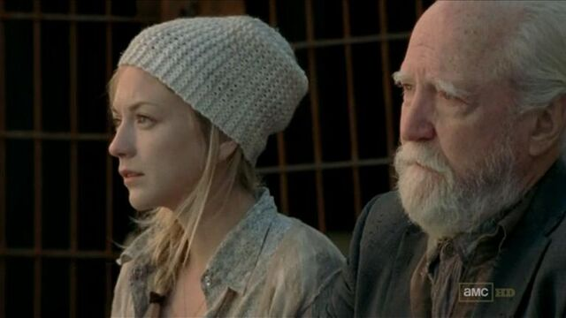 File:Beth and Hershel listening to Rick's speech.JPG