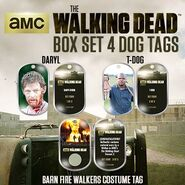 The Walking Dead - Dog Tag (Season 2) - Set 4