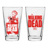 Zombie Pint Glass
