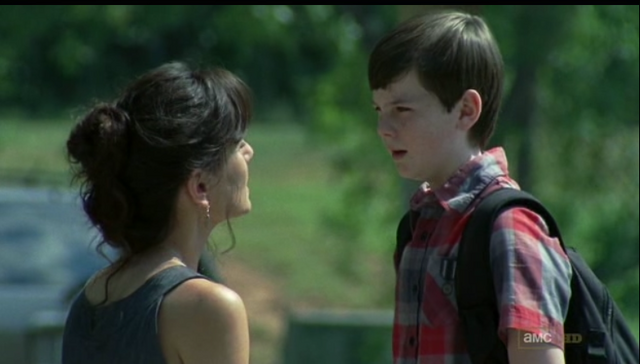 File:Lori Grimes & Carl Grimes (TV) 2.png