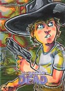 12 Elvin Hernandez Sketch Card