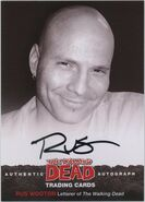 03 Rus Wooton Autograph Card