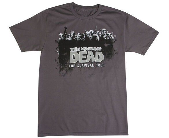 "File:THE WALKING DEAD ""SURVIVAL TOUR"" T-SHIRT.JPG"