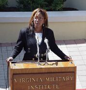 576px-Donzaleigh Abernathy speaker at Virginia Military Institute