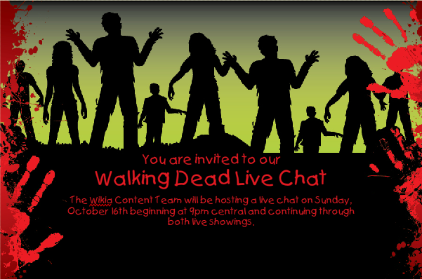 Walking Dead Live Chat