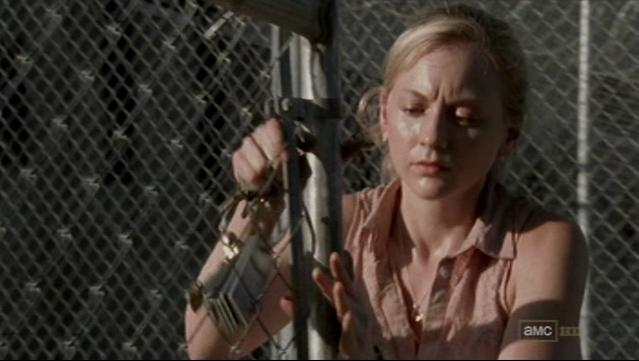 File:Beth opening the gate with keys.JPG