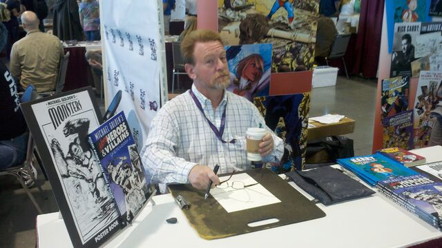 File:Michael-golden-at-planet-comicon-cj-bunce.jpg