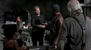 New arrivals, Axel and Hershel 3x09