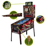 The Walking Dead Pinball Machine (Pro Edition) 4