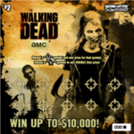 The Walking Dead scratch games (Arizona)