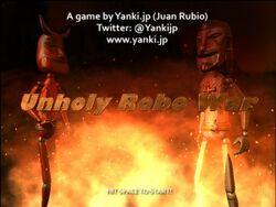 UNHOLY ROBO WAR!
