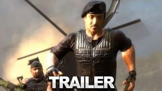 The Expendables 2 Videogame Gameplay Trailer