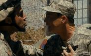 Adams persuades Sgt Castro to wait