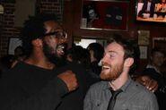 Alex Wayne and Travis Love