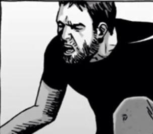 File:Carson assesses Rick's leg.jpg