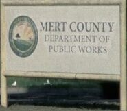 Mert County logo