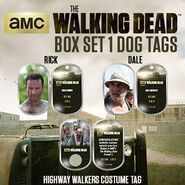 The Walking Dead - Dog Tag (Season 2) - Set 1