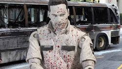 McFarlane Toys The Walking Dead TV Series 1 Bloody Black & White Rick Grimes 1
