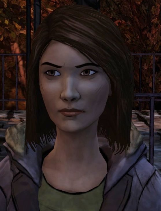 Image result for the walking dead game carley