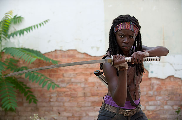 File:Michonne and her katana.png
