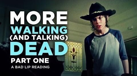 """MORE WALKING (AND TALKING) DEAD PART 1"" - A Bad Lip Reading of The Walking Dead Season 4"