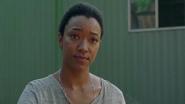 Sasha Williams Explains to Rosita What This Means 7x12