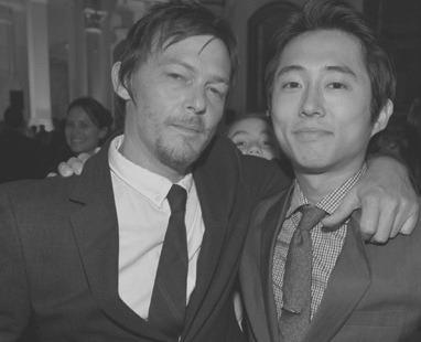 File:Reedus and Yeun B&W.jpg