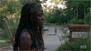 5x09 Michonne Overwhelmed