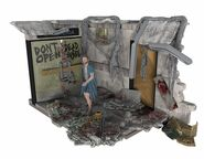 Hospital Doors (The Walking Dead TV) McFarlane Building Set