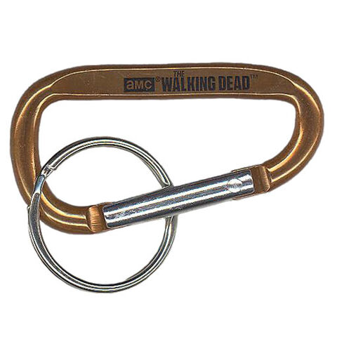 File:The Walking Dead - Carabiner Clip (Season 2) - BRONZE (2.5 inch).jpg