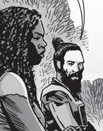 Michonne & Jesus 158