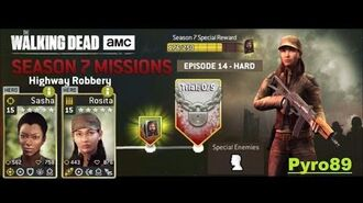 The walking dead no man's land (S07 Episode 14 - Highway Robbery)