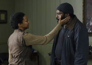 AMC 503 Sasha and Tyreese