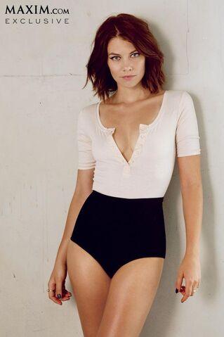 File:Lauren Cohan sexy maxim 6.JPG