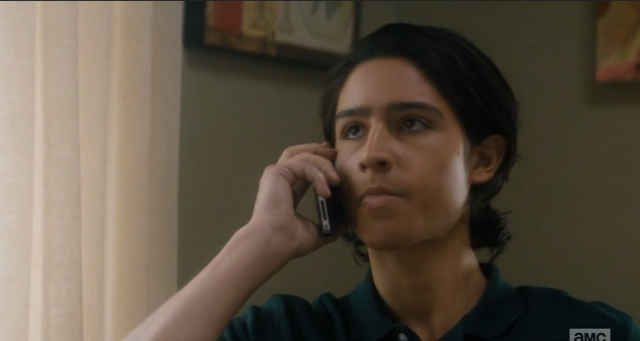 File:Chris on the phone to Travis, he doesn't look happy either.png
