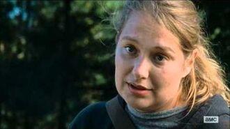 The Walking Dead 6x14 Denise Cloyd's death scene