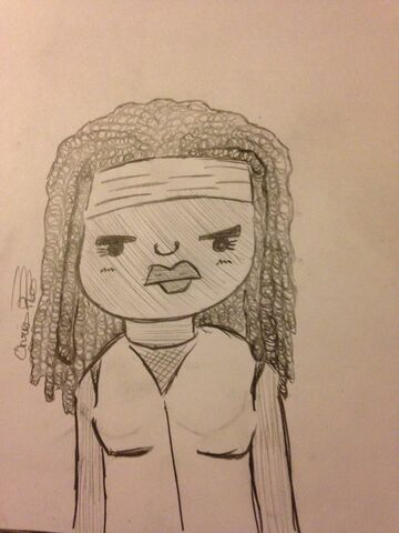 File:Michonne draw.jpg