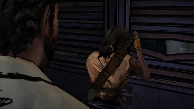 File:ITD Michonne Looking Inside.png