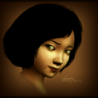 File:The walking dead clementine fansketch by tsunii sama-d5snp3j.png