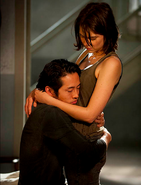 Glenn and Maggie S04E01