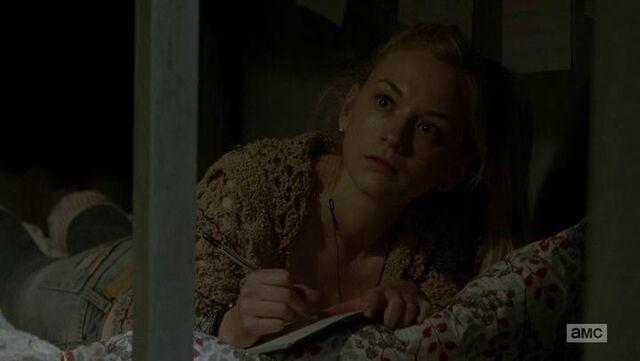 File:Beth close up at looking at Daryl.JPG