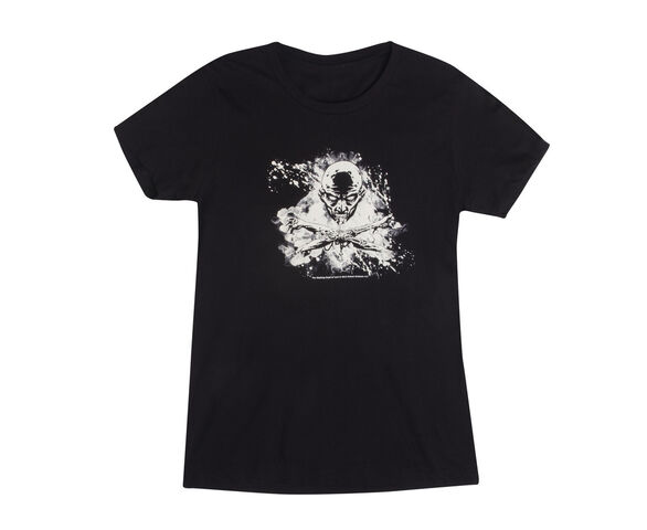 "File:THE WALKING DEAD ""SKULL AND BONES"" T-SHIRT (WOMENS).JPG"