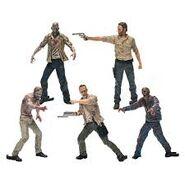 The Walking Dead Construction Figure Pack 1