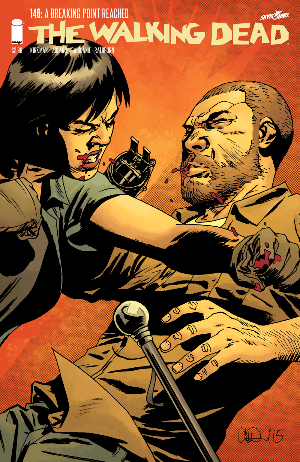 how many issues of the walking dead comics are there