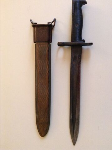 File:M1 Bayonet unsheathed.JPG