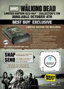Walking Dead Special Edition SnapTag Postcard