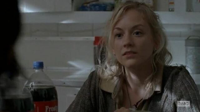 File:Beth looking at Daryl at the table cute.JPG